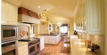 Современный ремонт на небольшой кухне