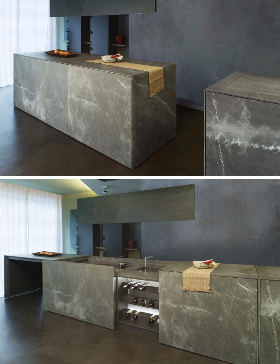 Современные дизайнерские кухни у вас дома - модель D90 от TM Italia Cucine