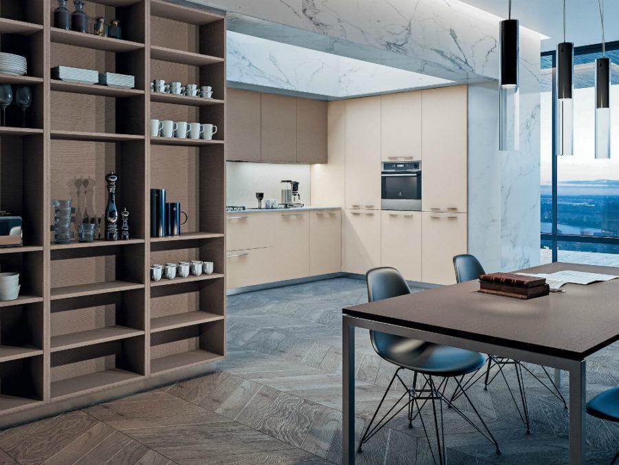 Современные дизайнерские кухни у вас дома - кухонные полки от GD Arredamenti