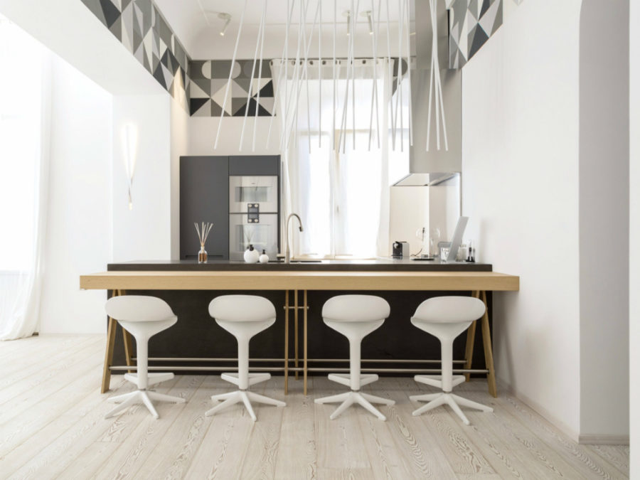 Современные дизайнерские кухни у вас дома - островок от TM Italia Cucine