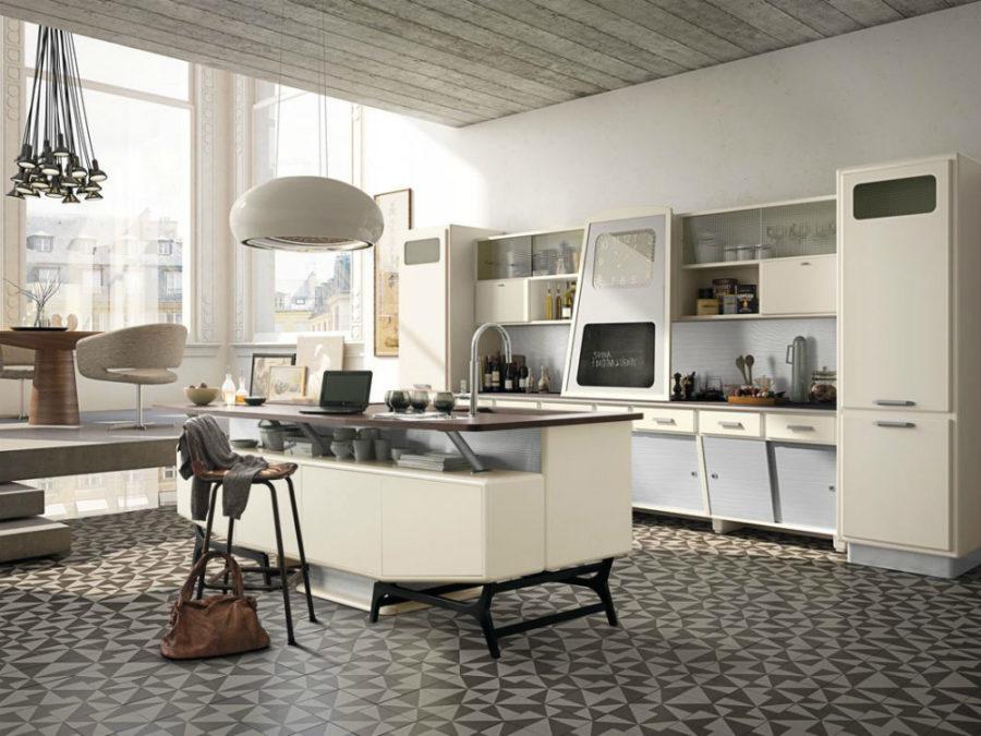 Современные дизайнерские кухни у вас дома - модель Saint Louis от Marchi Cucine