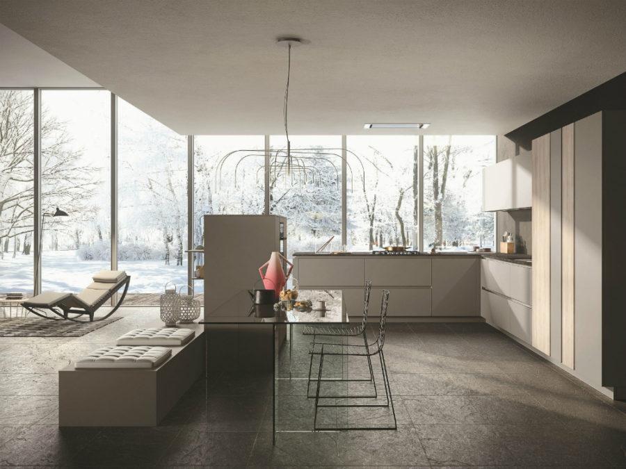 Современные дизайнерские кухни у вас дома - кухня Look от Snaidero