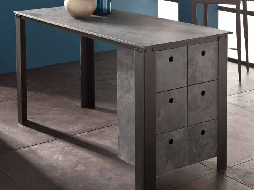 Современные дизайнерские кухни у вас дома - стол от Polyrey