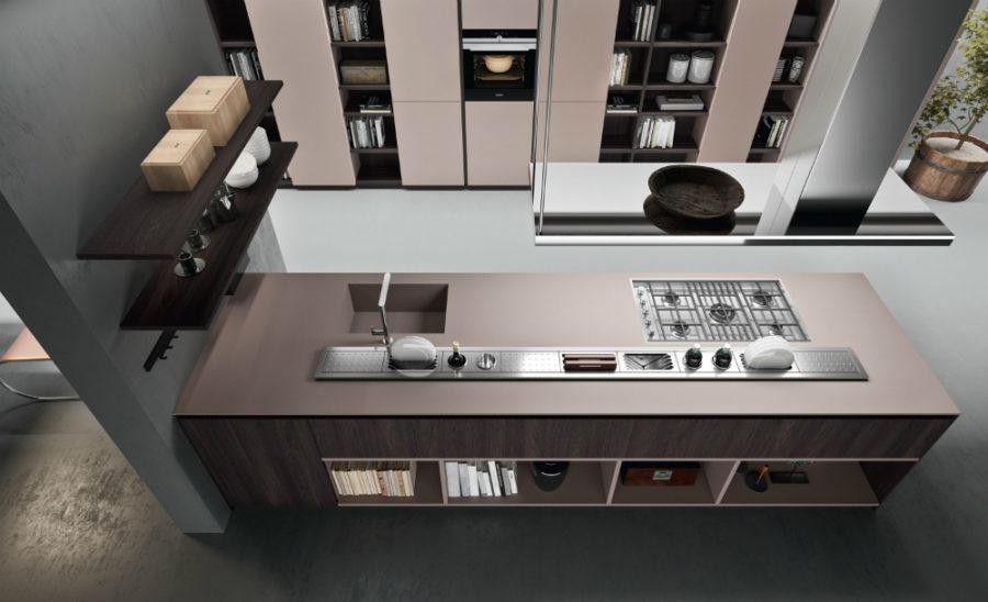 Современные дизайнерские кухни у вас дома - кухня от Comprex