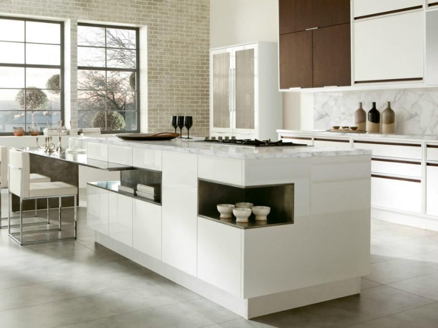 Современные дизайнерские кухни у вас дома - кухня от Aster Cucine