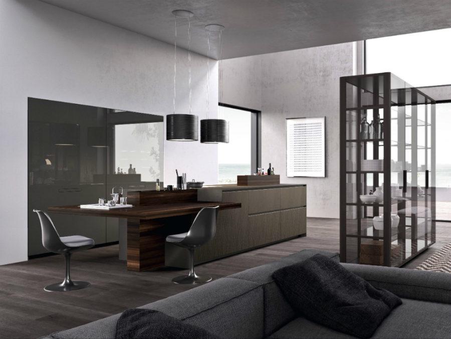 Современные дизайнерские кухни у вас дома - кухонная мебель от Comprex