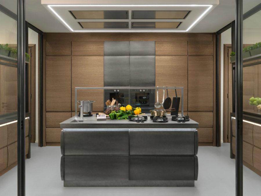 Современные дизайнерские кухни у вас дома - кухонный остров от LOttocento