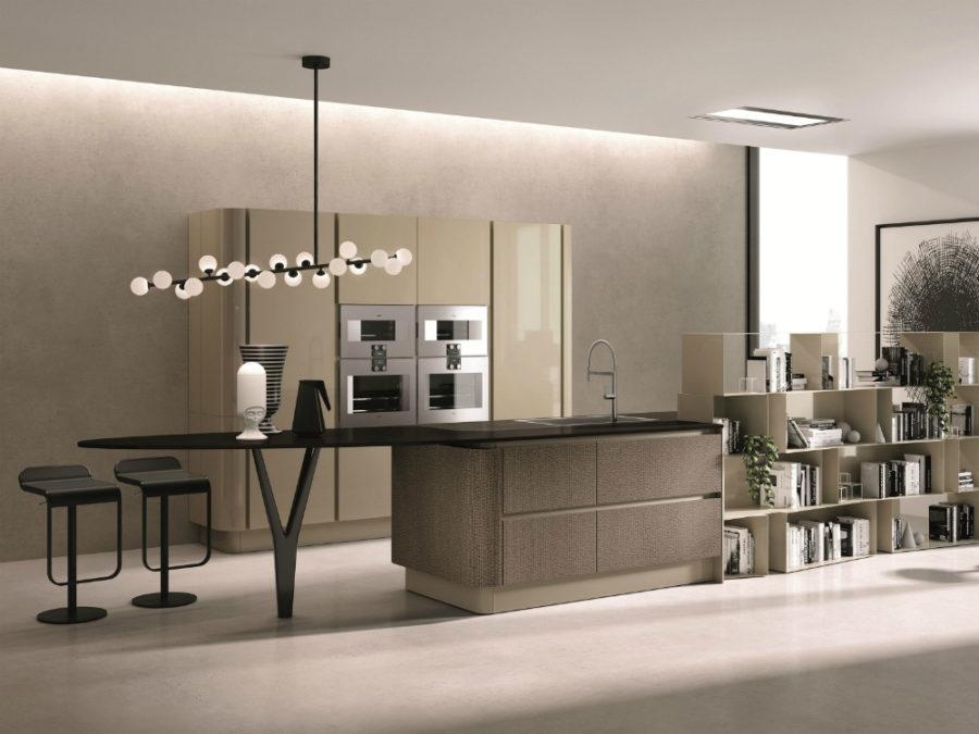 Современные дизайнерские кухни у вас дома - стол от Aster Cucine