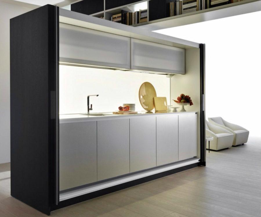 Современные дизайнерские кухни у вас дома - модель Tivali от компании Dada