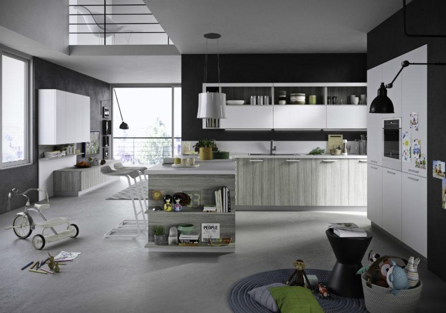 Современные дизайнерские кухни у вас дома - пенал модели Fun от Snadeiro