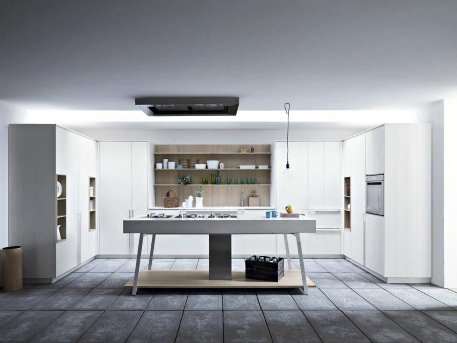 Современные дизайнерские кухни у вас дома - стол Kalea от CeasarArrendamenti