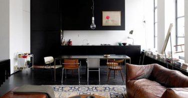 Современные кухни с гостиной в стиле минимализм