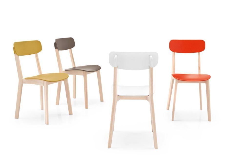 Многие современные кухонные стулья отличаются лаконичным исполнением
