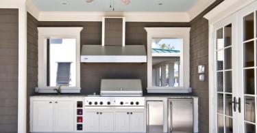 Удивительные проекты кухонь во дворе