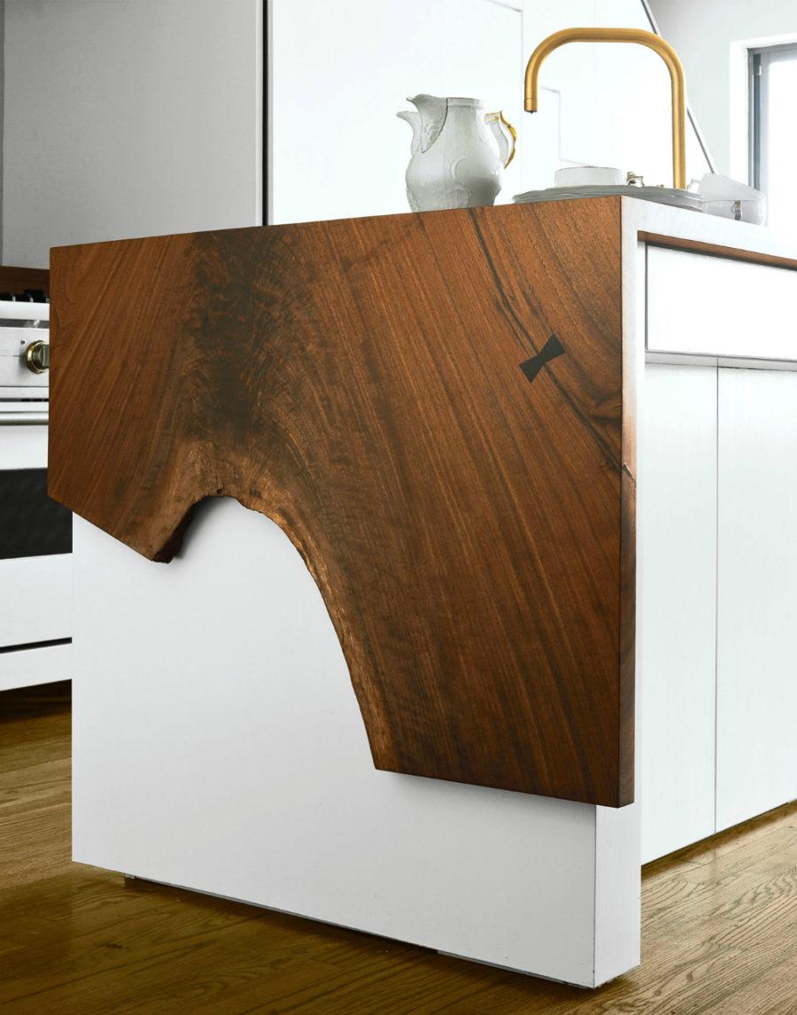Современные тенденции в дизайне кухни в вашем доме - дерево в интерьере