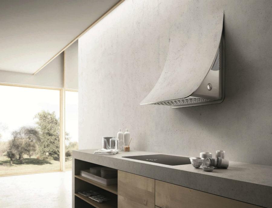 Современные тенденции в дизайне кухни в вашем доме - необычная вытяжка