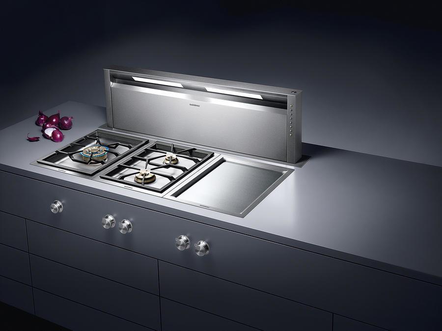 Современные тенденции в дизайне кухни в вашем доме - выдвижная вытяжка