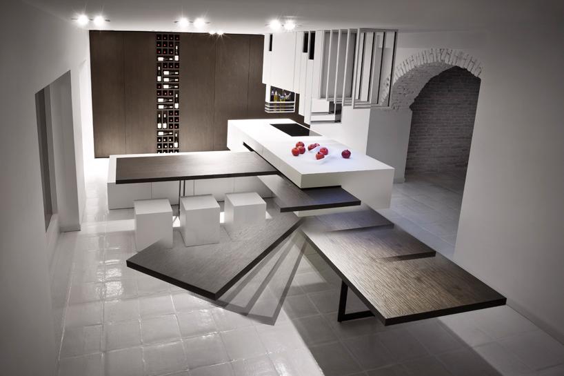 Современные тенденции в дизайне кухни в вашем доме - передвижной стол