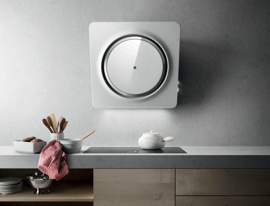 Современные тенденции в дизайне кухни в вашем доме - вытяжка в форме круга