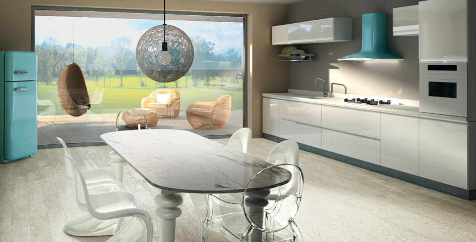 Современные вытяжки для кухни в стильном интерьере