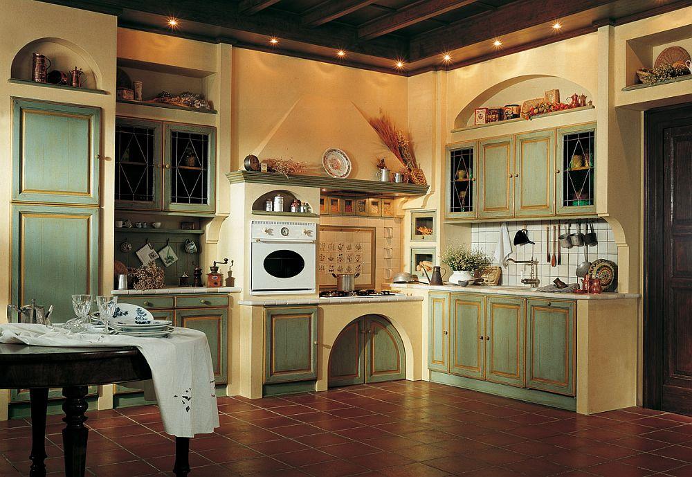Уютный стиль прованс на кухне