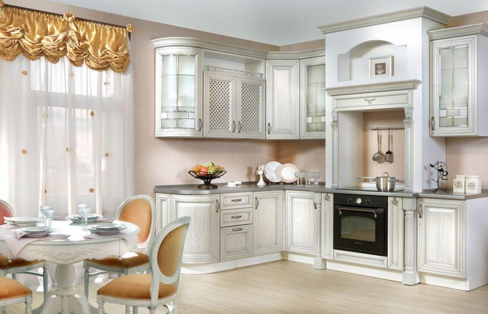Стили дизайна кухни: интерьер в светлых тонах