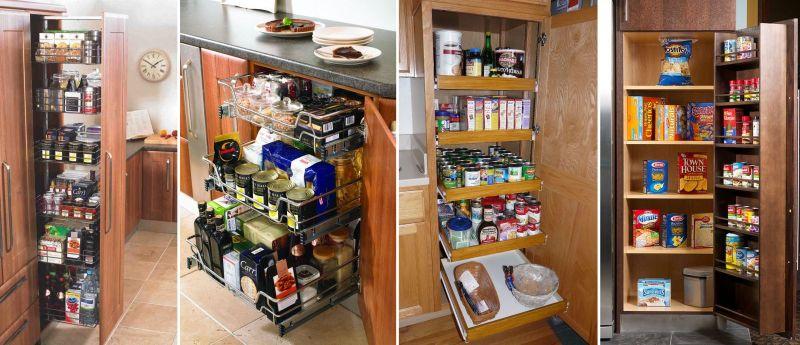 Практичные кухни: грамотная организация хранения