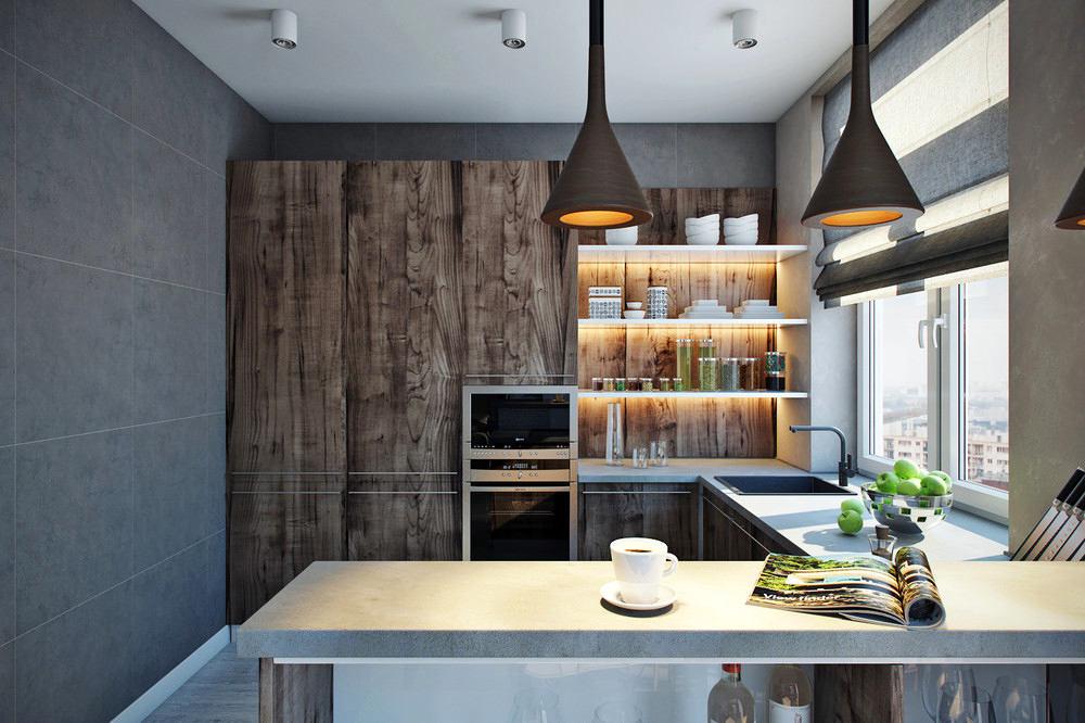 Выбираем материал для столешниц: кухня в современном стиле