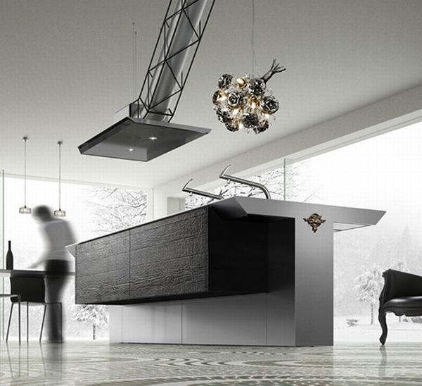 Conceptual kitchen design INO Leone