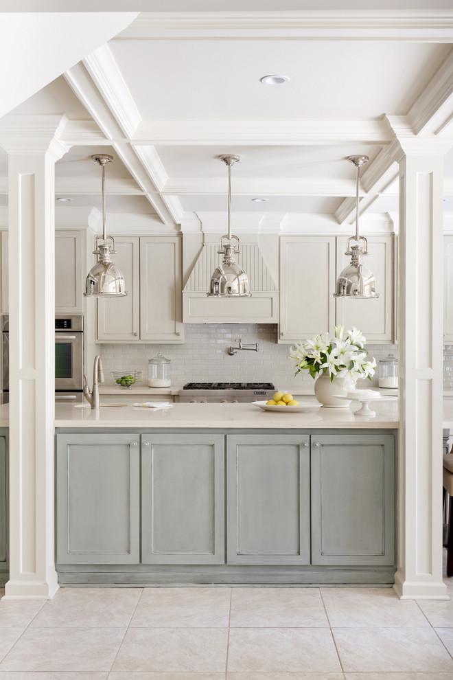 Стильный дизайн интерьера кухни от Tobi Fairley Interior Design