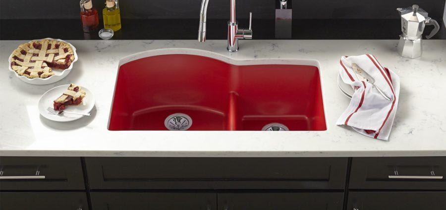 Тенденции в дизайне кухонь - яркие пятна