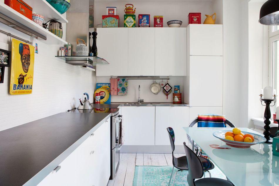 Креативный дизайн кухни в скандинавско-африканском стиле