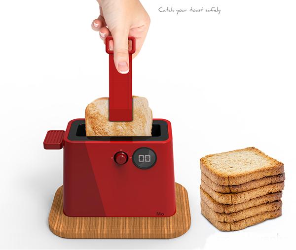 Выбор кухонной техники: красный тостер от Pierre Schwenke