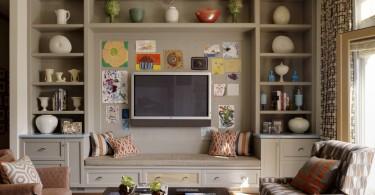 Стильный дизайн интерьера гостиной от Jeffers Design Group