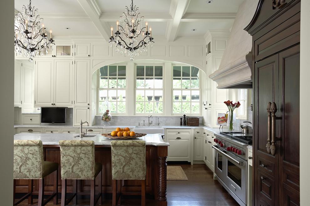Архитектурные детали в оформлении кухни