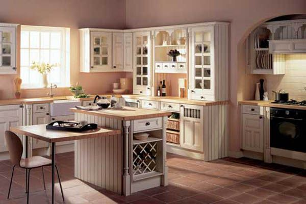 Потрясающий дизайн интерьера кухни в классическом стиле