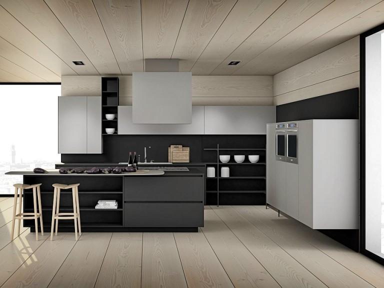 Удобные функциональные кухни «Lucrezia»