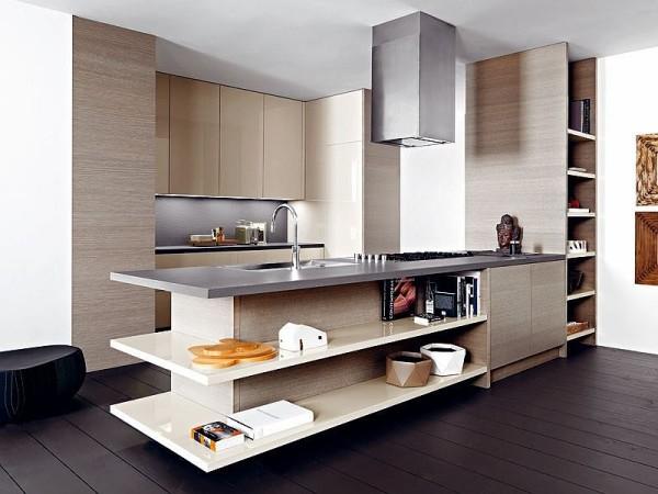 Кухня подойдет даже для самого маленького пространства