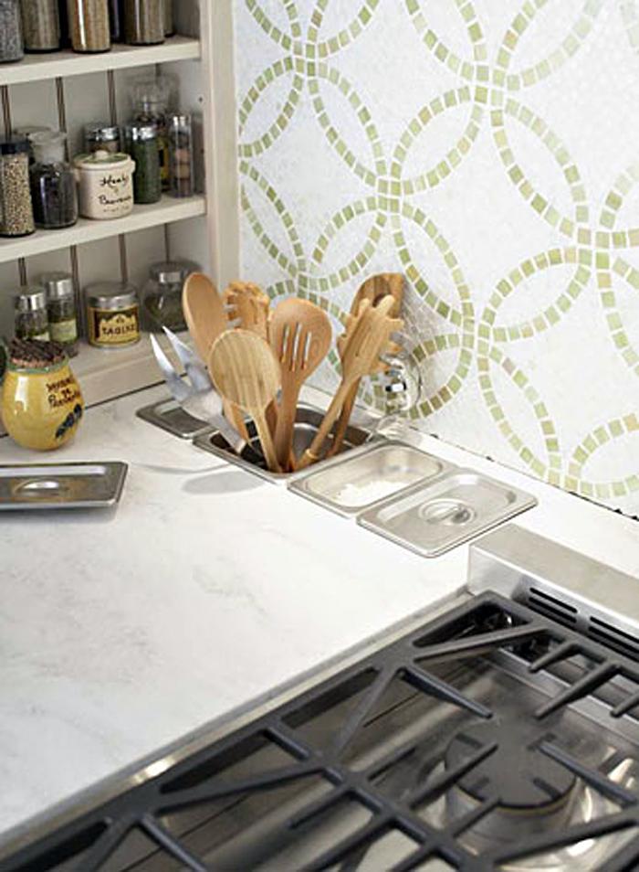 Оригинальный дизайн систем хранения посуды и мелкой кухонной утвари