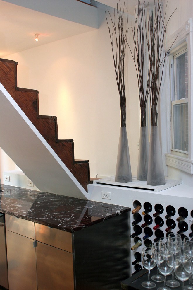 Оригинальный дизайн системы хранения вина