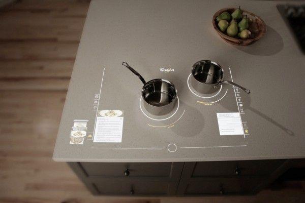 Столешница Whirlpool в футуристическом дизайне