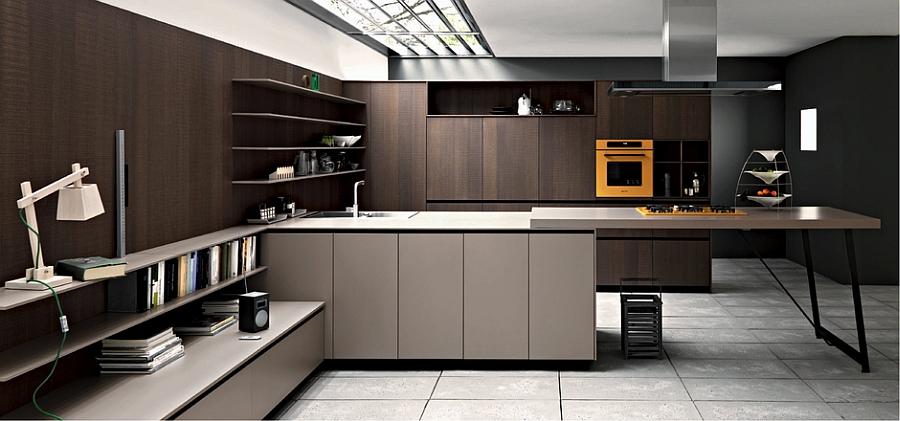 Современный дизайн стильной кухни Kalea от Cesar