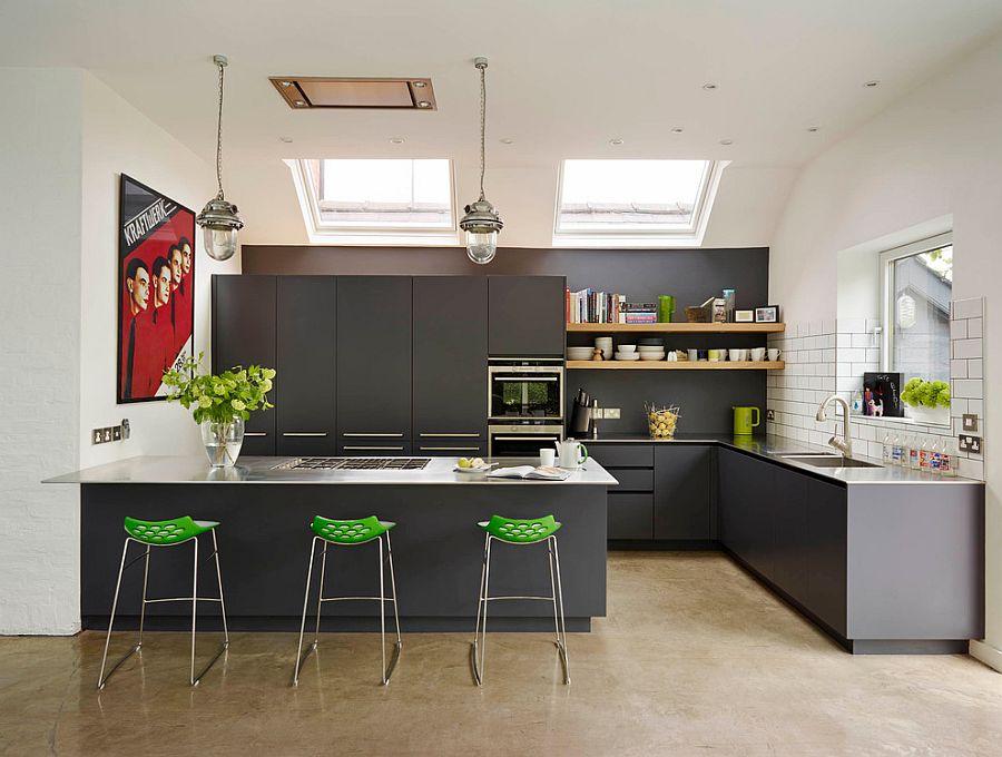 В какой цвет покрасить кухню: интерьер в сором цвете - Фото 4
