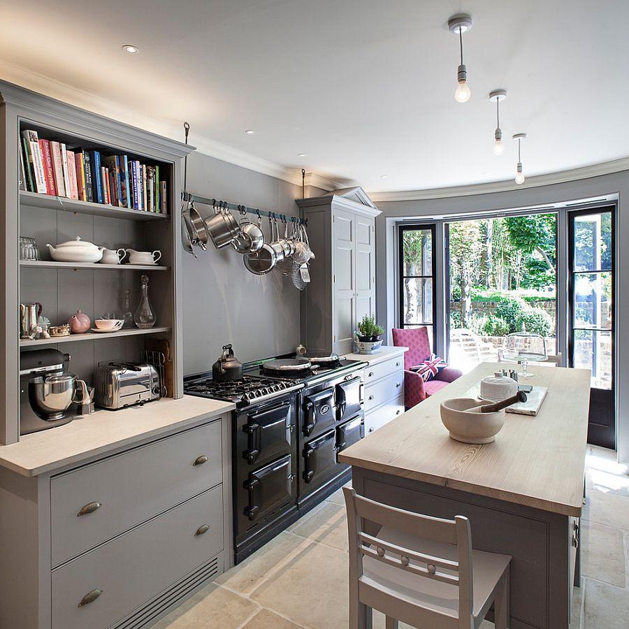 В какой цвет покрасить кухню: интерьер в сором цвете - Фото 7