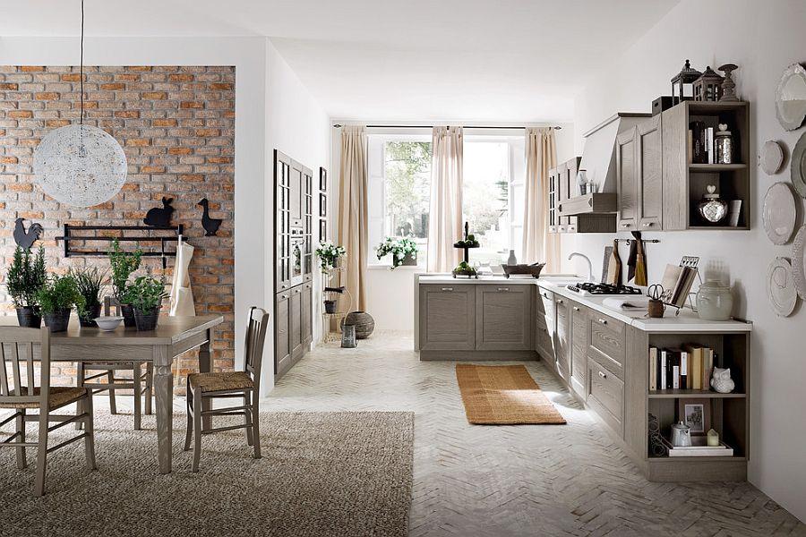 В какой цвет покрасить кухню: интерьер в сором цвете - Фото 9