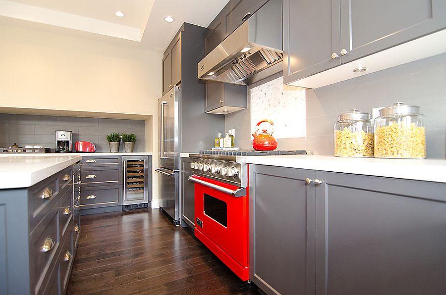 В какой цвет покрасить кухню: интерьер в сором цвете - Фото 12