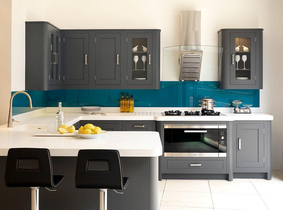 В какой цвет покрасить кухню: интерьер в сором цвете - Фото 15