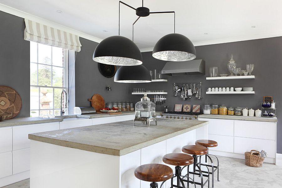 В какой цвет покрасить кухню: интерьер в сором цвете - Фото 20