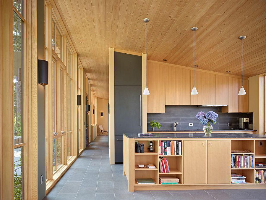 В какой цвет покрасить кухню: интерьер в сором цвете - Фото 40