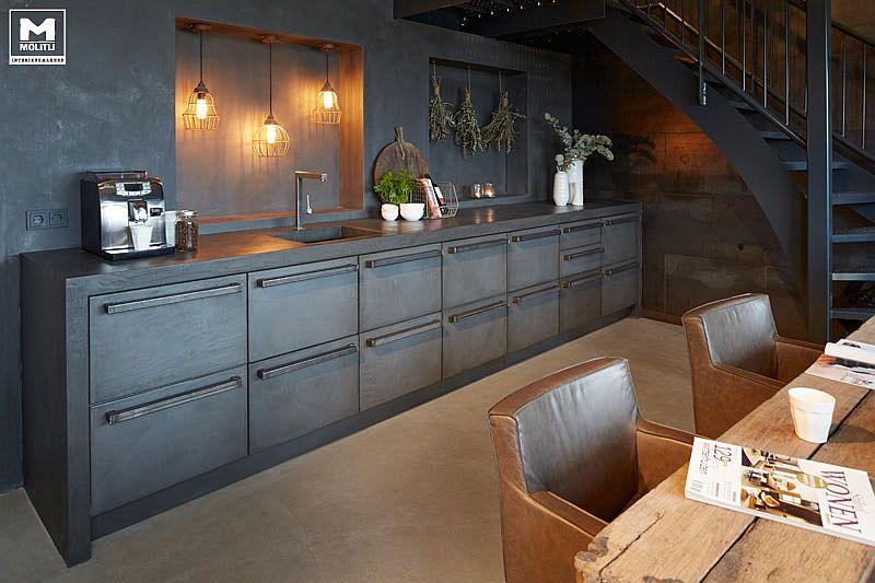В какой цвет покрасить кухню: интерьер в сором цвете - Фото 43